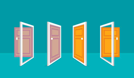 Door Vector Illustration for design or web design