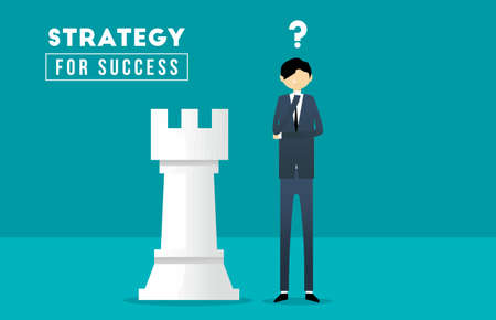 Business And Strategy Illustration Illustration