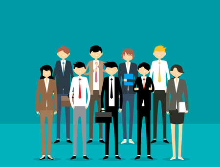Business People Illustration