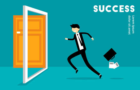 Business Run To Success
