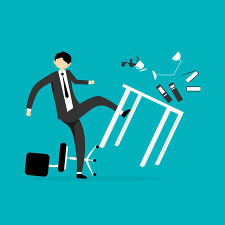 reuniones empresariales: El hombre de negocios ilustración