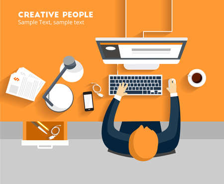 Creative People 矢量图像