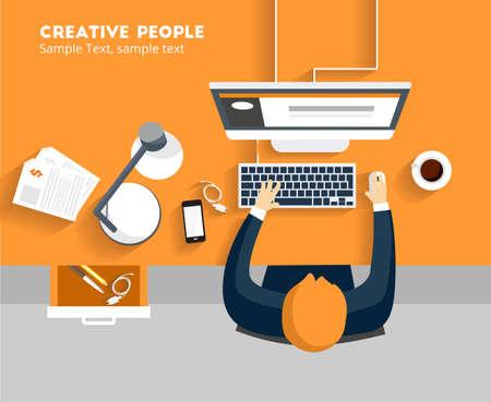 Creative People Illustration