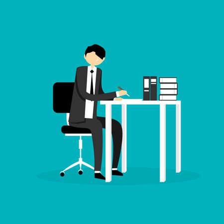 Businessman Illustration Illustration