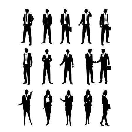 silhouettes: Business Silhouettes
