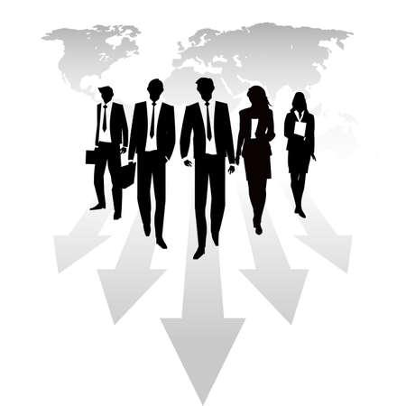 Business Background Illustration