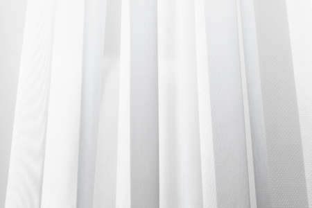 A wave of illuminated soft and gentle curtain made of lightweight fabric.