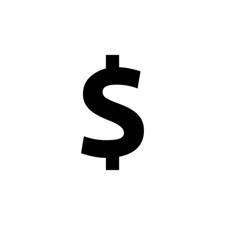 Money icon isolated on white background. Money vector icon. Dollar icon