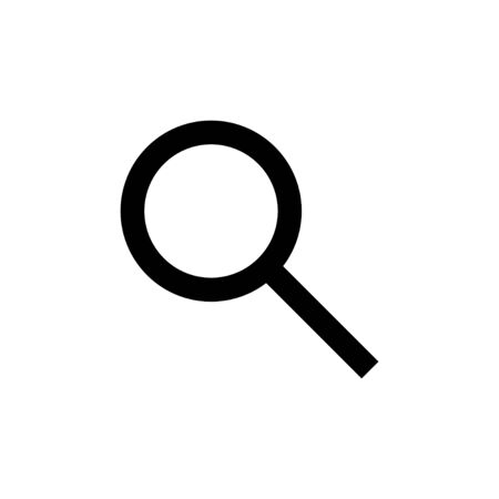Search icon isolated on white background. Search vector icon. search magnifying glass icon. Find