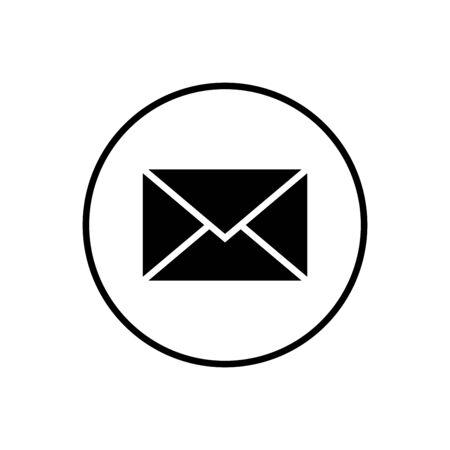 Mail vector icon. E-mail icon. Envelope illustration. Message Foto de archivo - 150361312