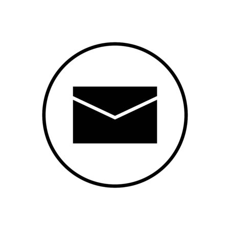 Mail vector icon. E-mail icon. Envelope illustration. Message Foto de archivo - 150361313