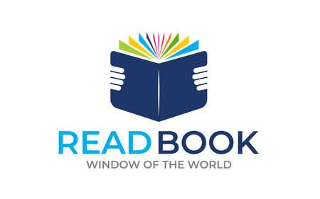 Creative Book icon logo design template Logo