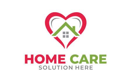 Creative of Home Health Services Concept Logo Design Template