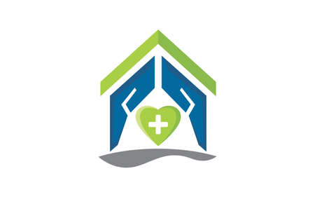 Illustration vector graphic of Home clinic care logo template for your business