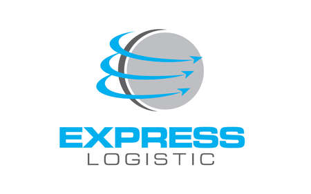 Creative of logo for truck logistic transportation concept vector Logo