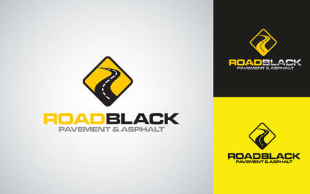 Illustration graphic vector of Asphalt repair, roadwork, pavement logo design template Illustration