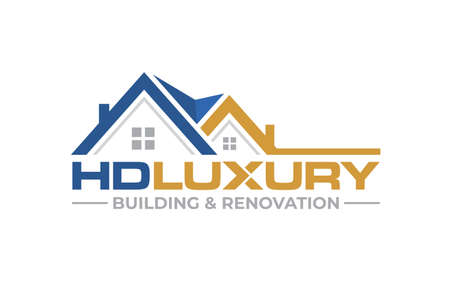 Illustration graphic vector of building house, renovation logo design template