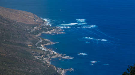 table mountain national park: Cape Town Aerial Stock Photo