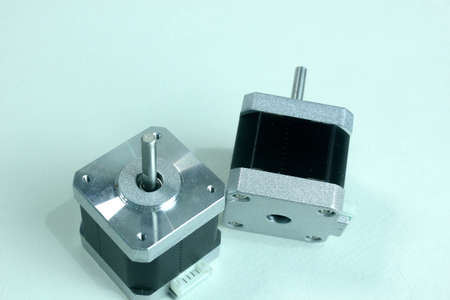 stepper motor is a type of motor that has an adjustable rotation, can even be adjusted to micro size, has a high degree of precision, can be used on a 3-dimensional printer