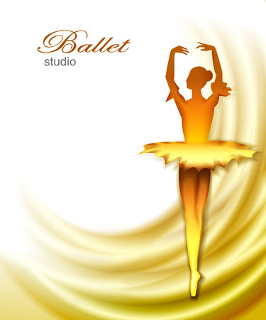 Ballet studio background