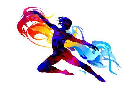 Ballet dancer, classical dance, aerobic, acrobat