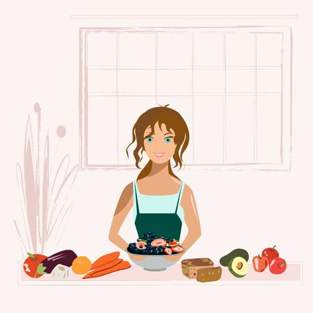 Its nice to cook delicious and healthy food for yourself and your family.