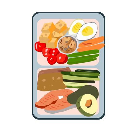Snack protein and fiber with carbohydrates