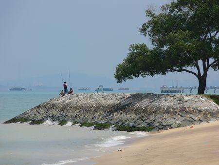 est: Beach at Est Coast Park, Singapore