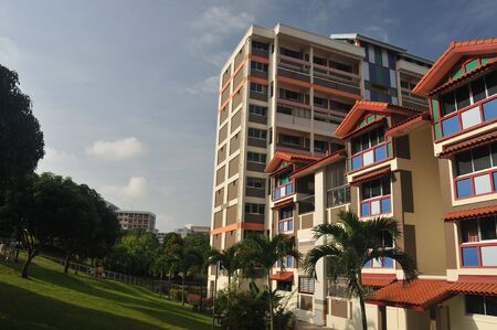 most: Most of Singaporeans live in Housing Develop Board flats