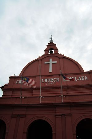 Church of Melaka is a historic landmark in Malaysia