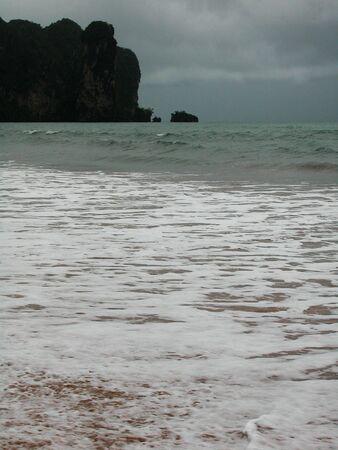 Stormy weather in Krabi photo
