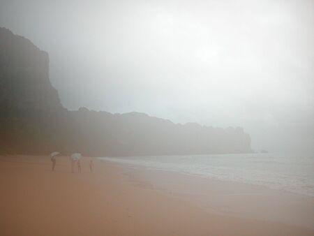 Misty morning in Krabi photo