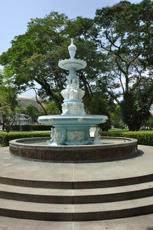 community recognition: This is a beautiful Victorian fountain built in recognition of Tan Kim Seng, a prominent Chinese community leader and philanthropist.