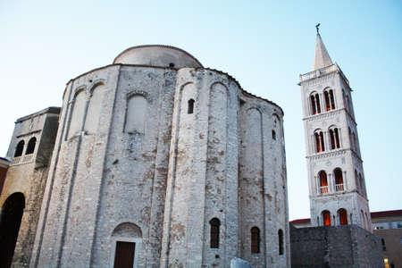 Cathedral in Zadar in Croatia Banco de Imagens