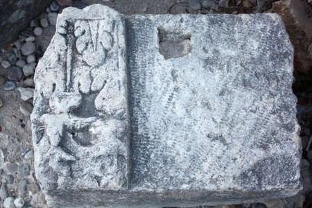Roman ruins in Zadar in Croatia