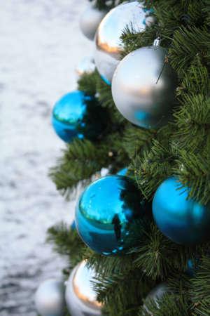 christmas tree card background 版權商用圖片