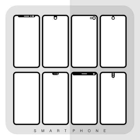 Set of Screen Smartphone