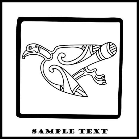 celtic eagle Stock Vector - 10100589