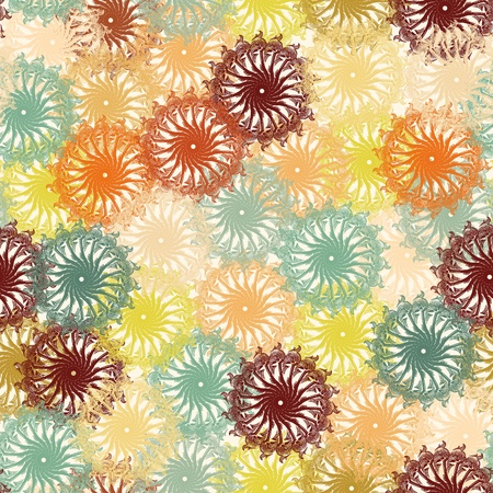 floral seamless pattern Stock Vector - 10100595