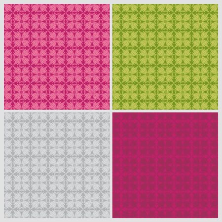 seamless vector floral pattern Vector