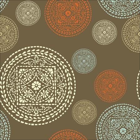 canvas print: Flores abstractas textura vector transparente en colores suaves