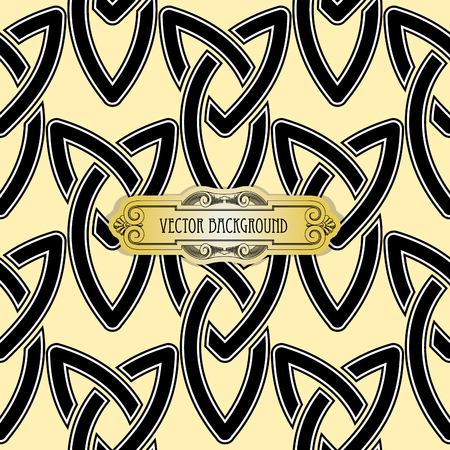 celtic cross: Vector celtic cross seamless Illustration