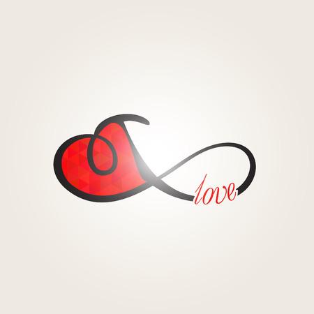 Infinity love, forever love Illustration