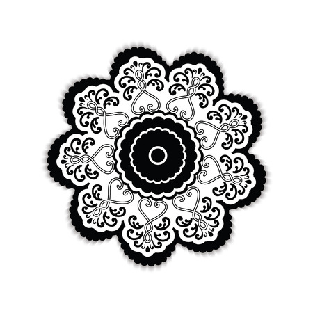 Round Ornament Illustration