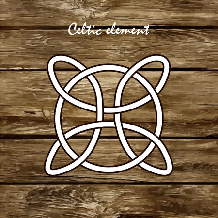 ethnographic: Celtic knots, braids and patterns. Vector illustration