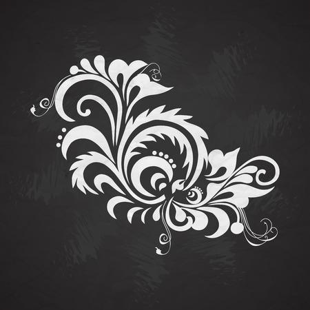 Vintage element for design, greeting card, invitation, menu, cover Vektorové ilustrace