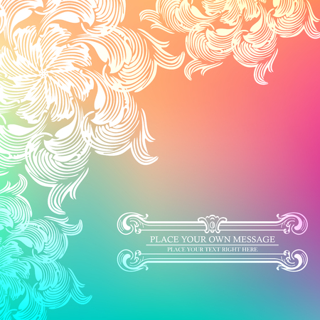 tarjeta de invitación de la vendimia de la elegancia