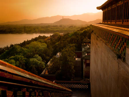 The imperial Summer Palace in Beijing. photo