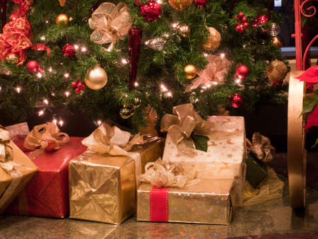 Christmas presents Stock Photo - 8918003