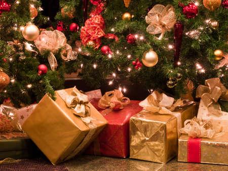 Christmas presents Stock Photo - 8918009
